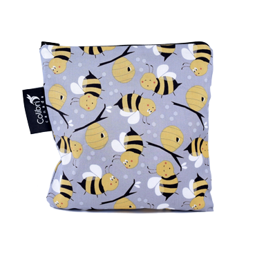 Bumble Bee Reusable Snack Bag (large)-1