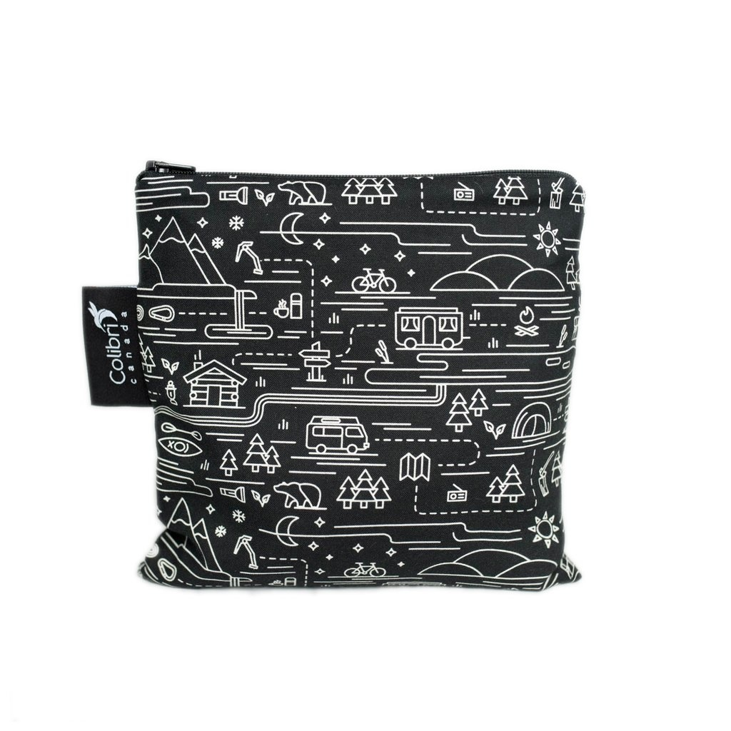 Adventure Reusable Snack Bag (large)-1