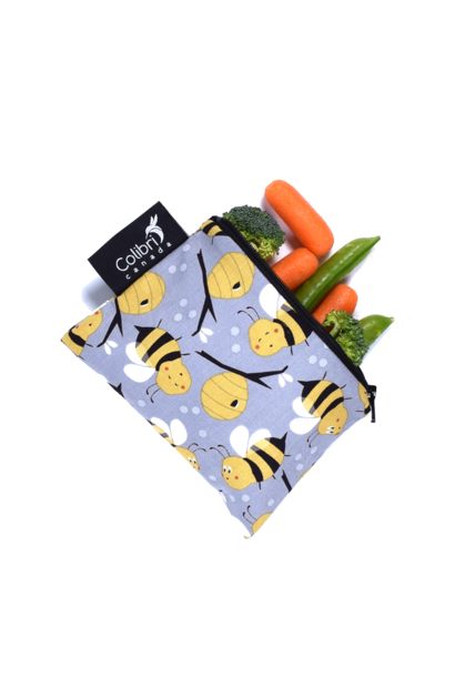 Bumble Bee Reusable Snack Bag (small)