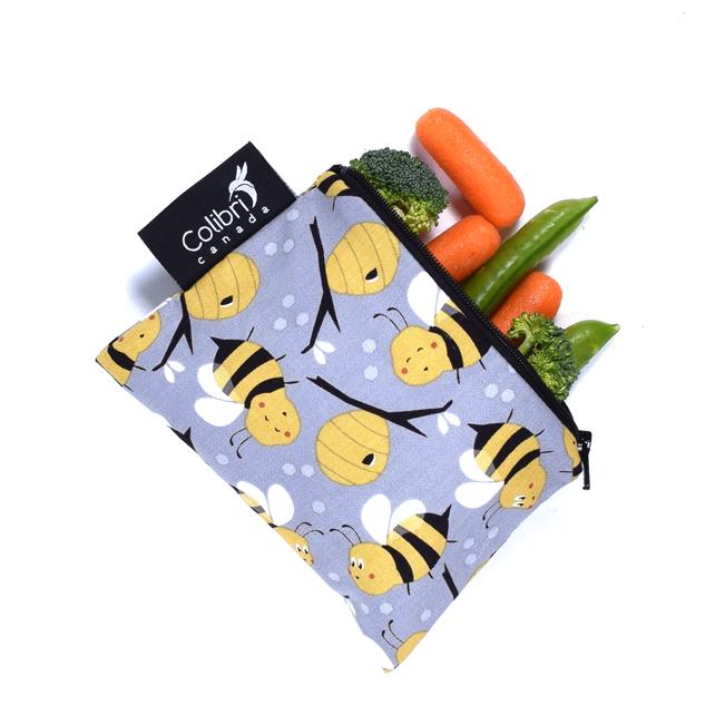 Bumble Bee Reusable Snack Bag (small)-1