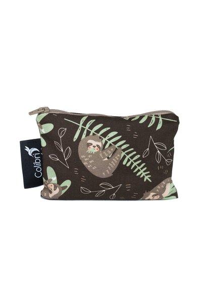 Sloths Reusable Snack Bag (small)