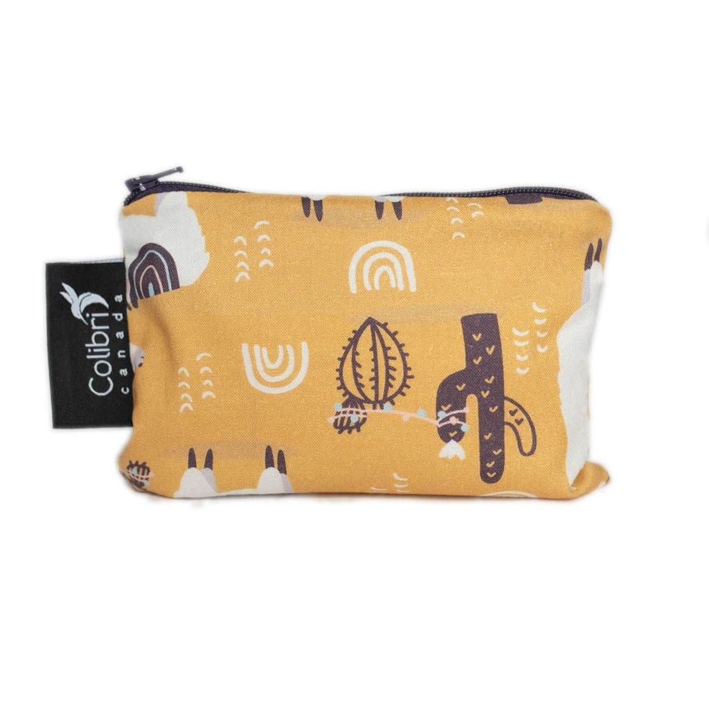 Llama Reusable Snack Bag (small)-1