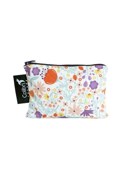 Wild Flowers Reusable Snack Bag (small)