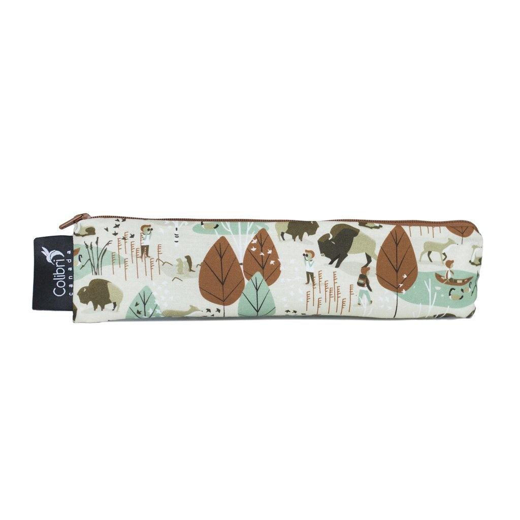 Nature Walk Reusable Snack Bag (wide)-1