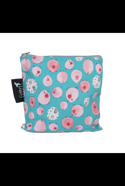 Oink Reusable Snack Bag (large)