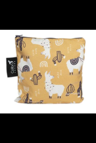 Llama Reusable Snack Bag (large)