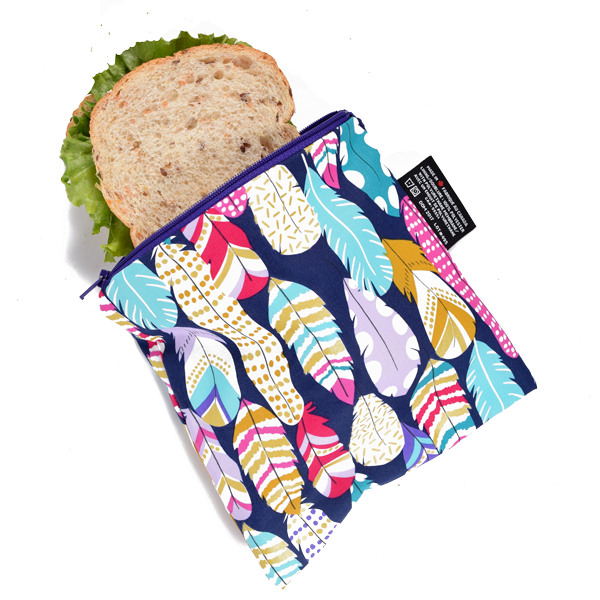Quill Reusable Snack Bag (large)-1