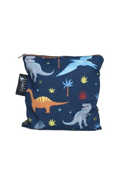 Dinosaurs Reusable Snack Bag (large)