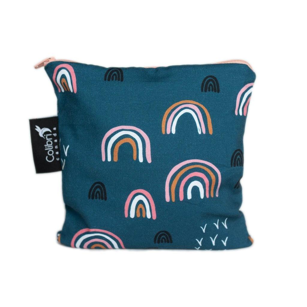 Rainbow Reusable Snack Bag (large)-1
