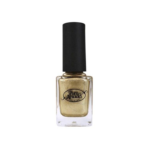 Gold Foil Nail Polish-1
