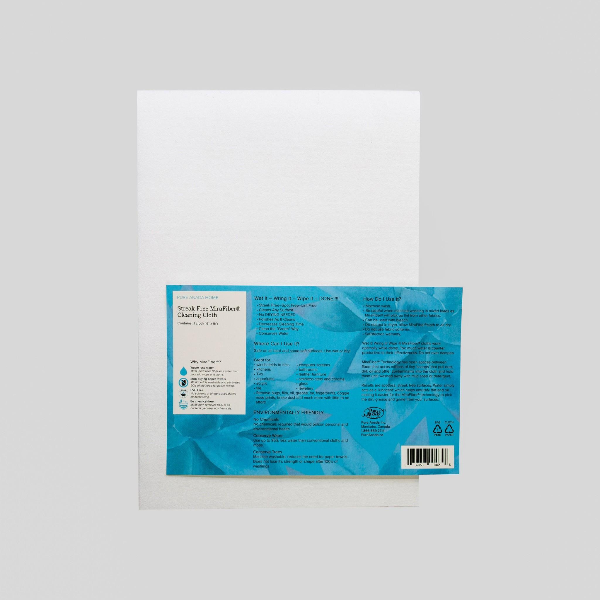 Streak Free MiraFiber Cleaning Cloth-2