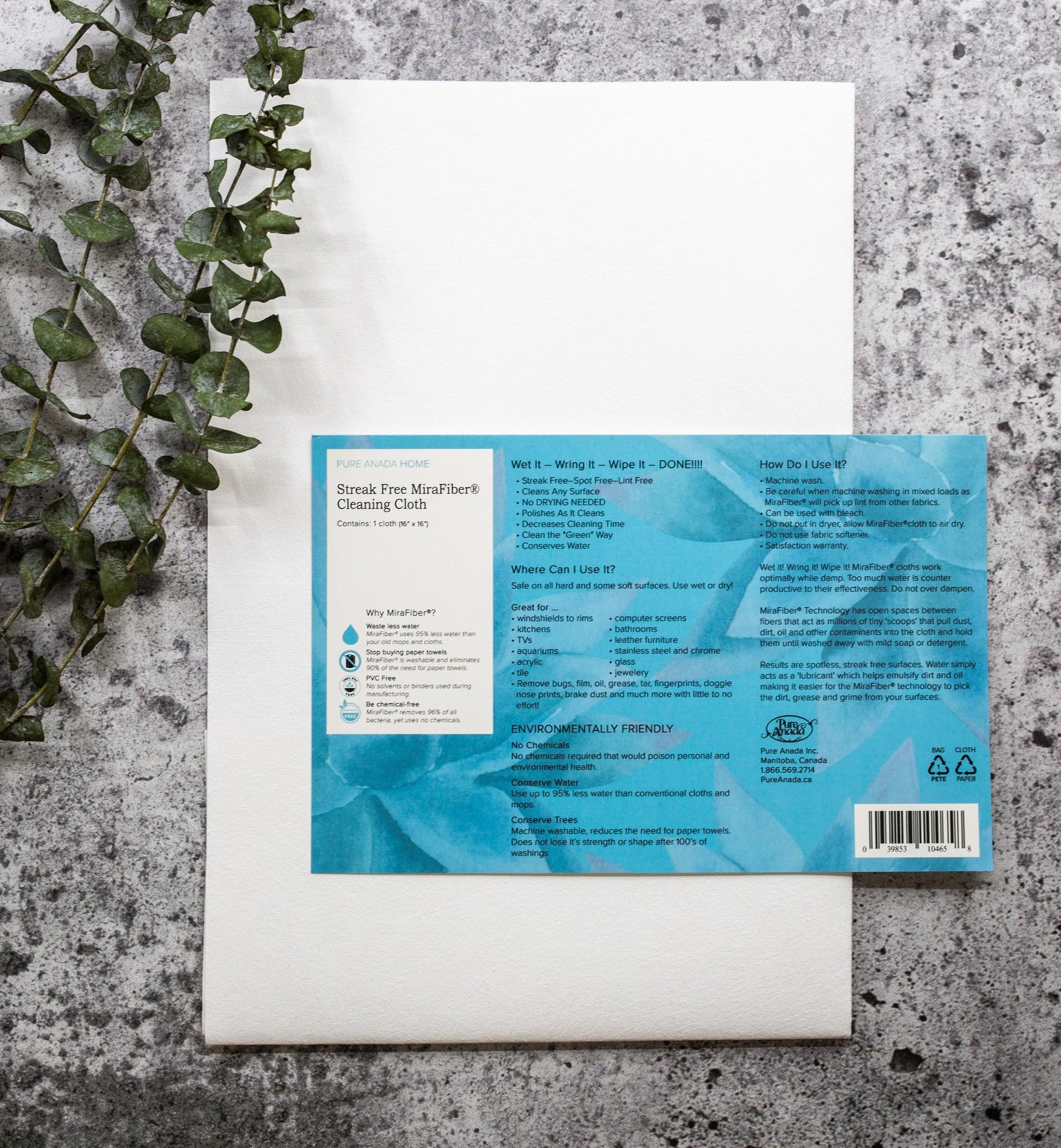 Streak Free MiraFiber Cleaning Cloth-1