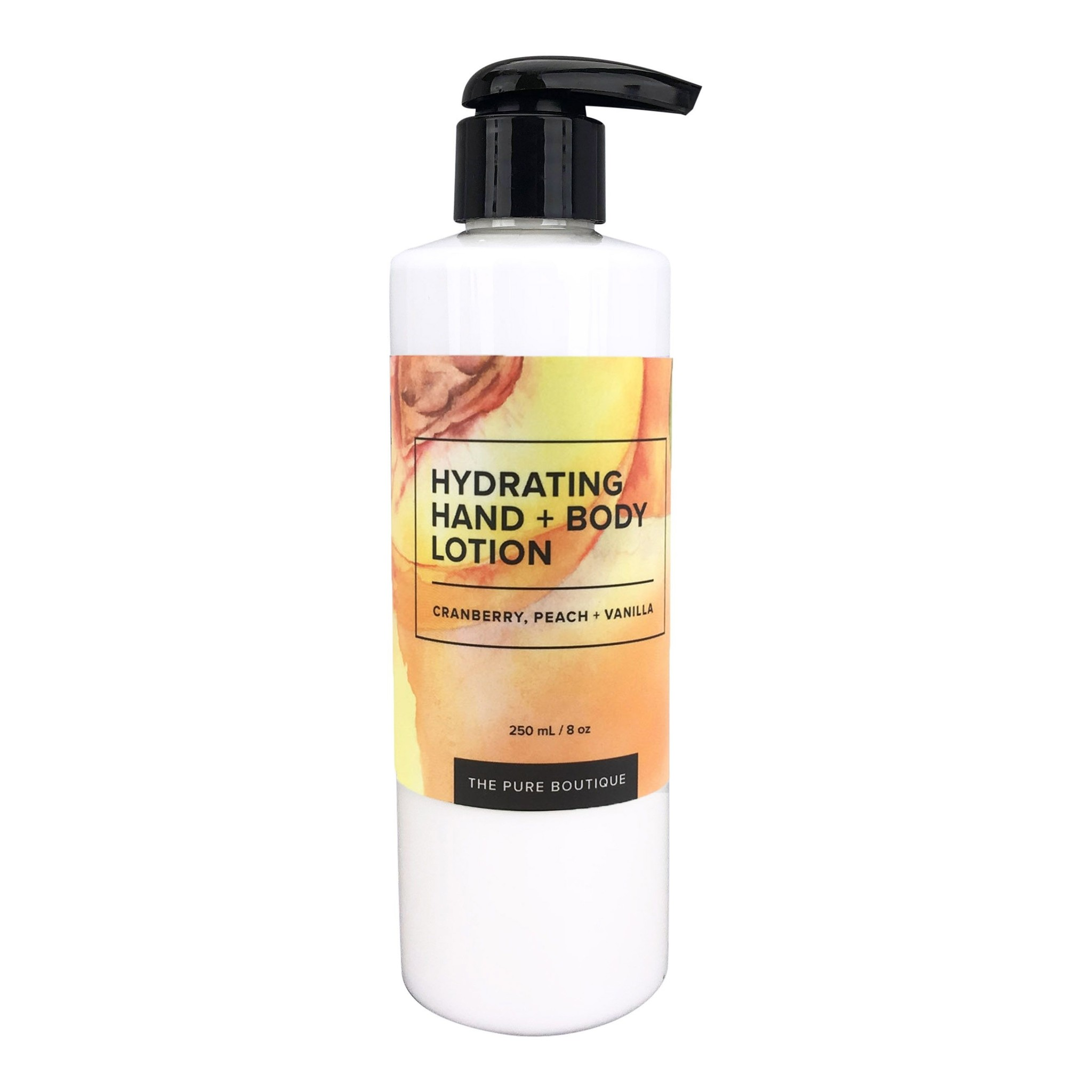 Hydrating Hand & Body Lotion - Cranberry, Peach and Vanilla-1