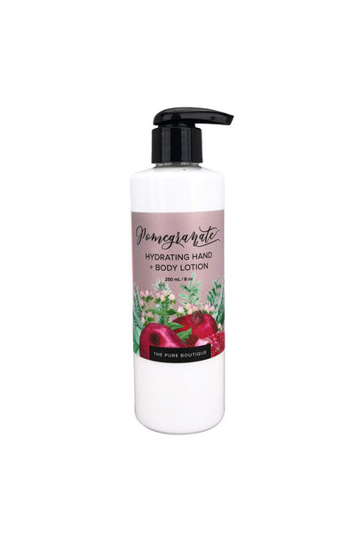 Hydrating Hand & Body Lotion - Pomegranate