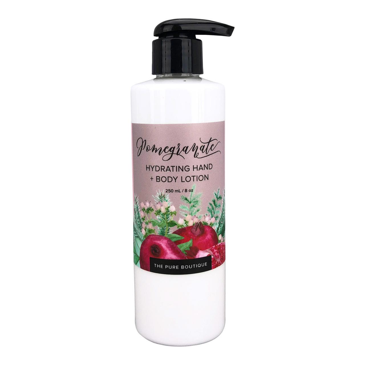 Hydrating Hand & Body Lotion - Pomegranate-1