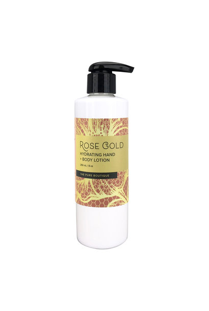 Hydrating Hand & Body Lotion - Rose Gold