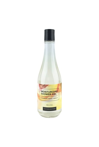 Moisturizing Shower Gel - Cranberry, Peach & Vanilla