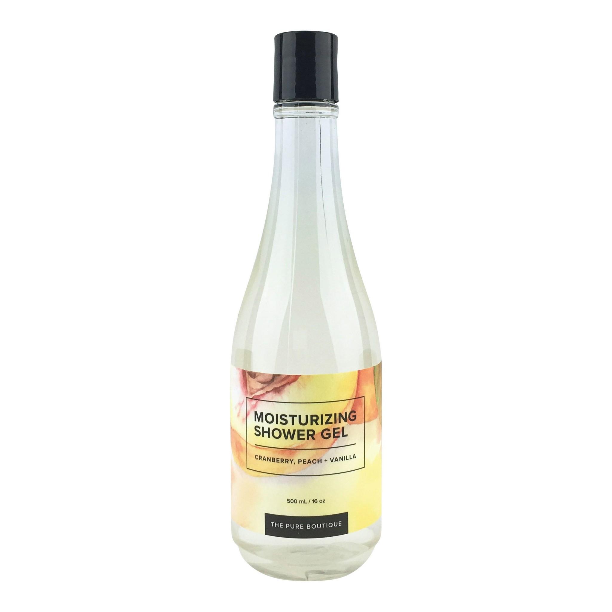 Moisturizing Shower Gel - Cranberry, Peach & Vanilla-1
