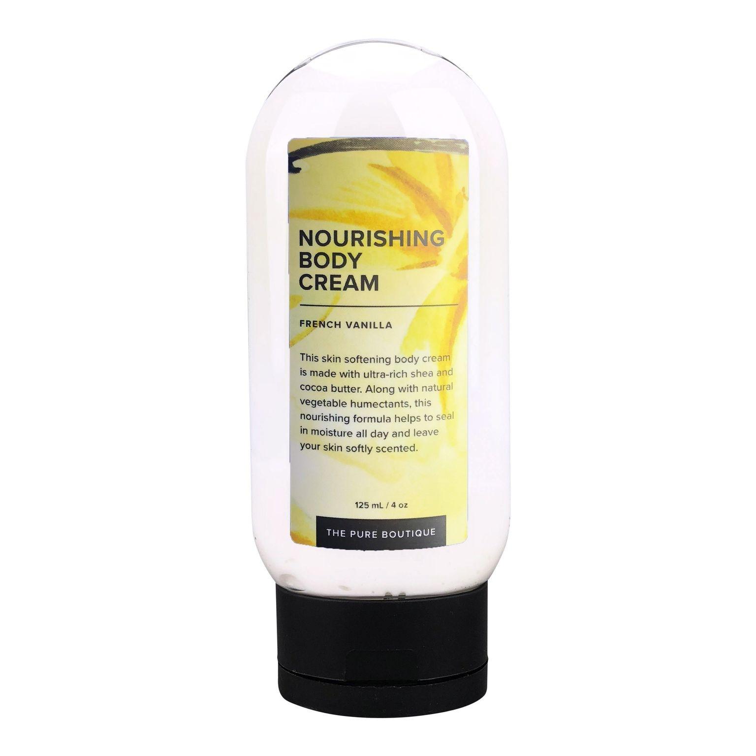 Nourishing Body Cream - French Vanilla-1