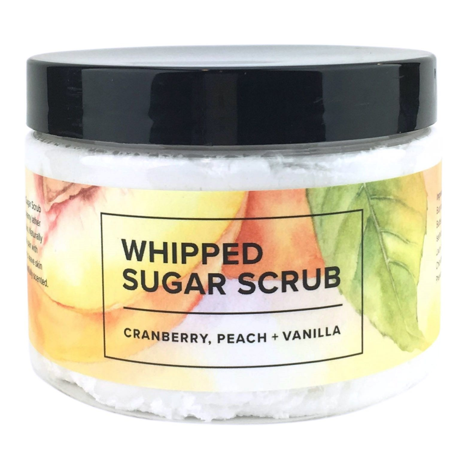 Whipped Sugar Scrub - Cranberry, Peach, and Vanilla-1