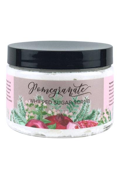 Whipped Sugar Scrub - Pomegranate