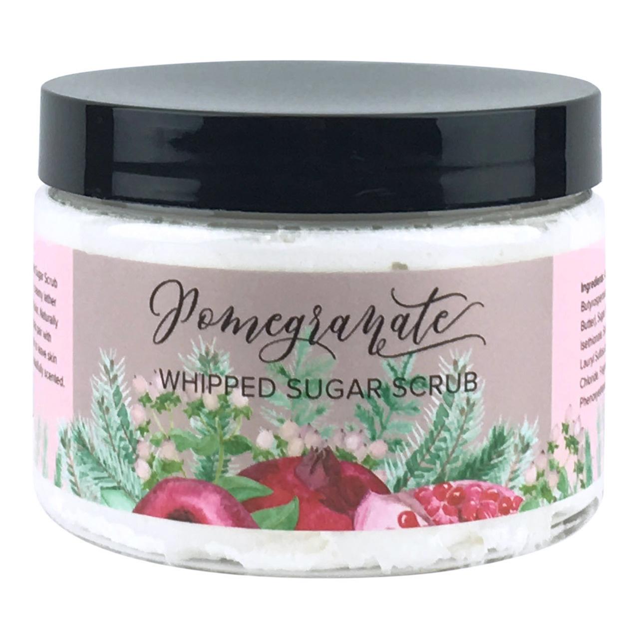 Whipped Sugar Scrub - Pomegranate-1