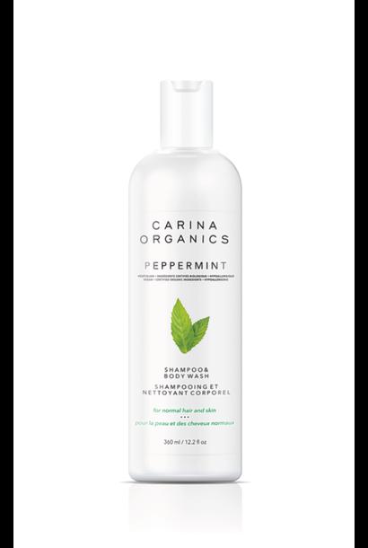 Peppermint Shampoo & Body Wash