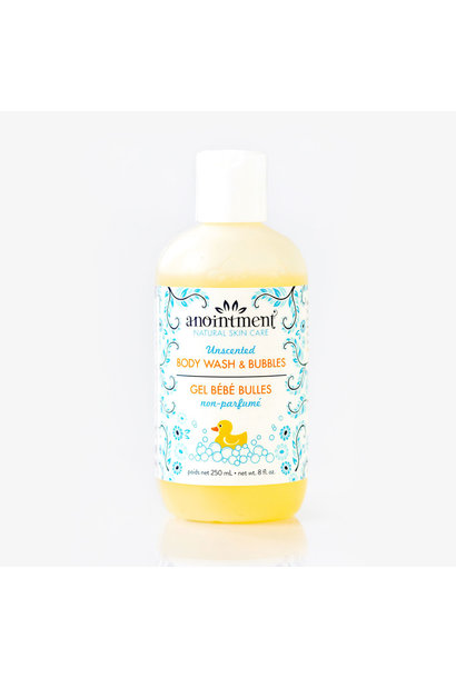 Unscented Body Wash & Bubbles