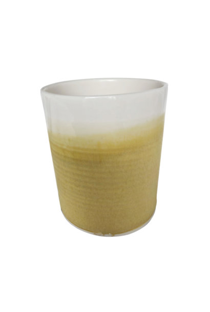 Refillable Container - Translucent Mustard