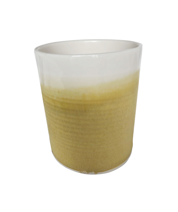 Refillable Container - Translucent Mustard-1