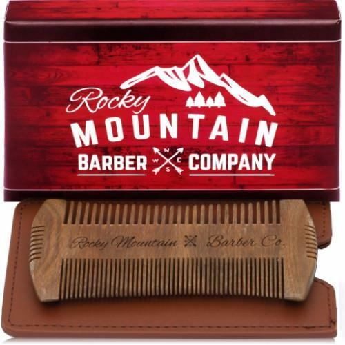 Beard Comb with Carrying Case-2