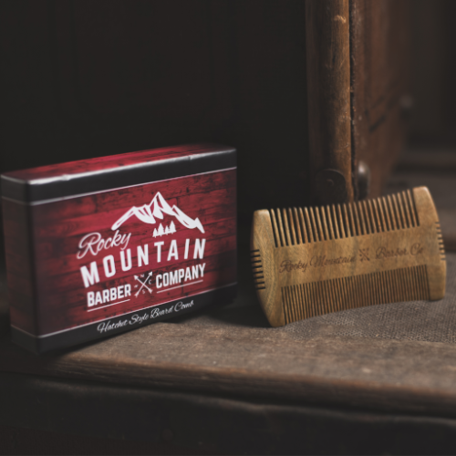 Beard Comb with Carrying Case-3