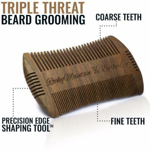 Beard Comb with Carrying Case-4