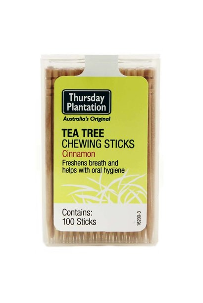 Tea Tree Chewing Sticks - Cinnamon