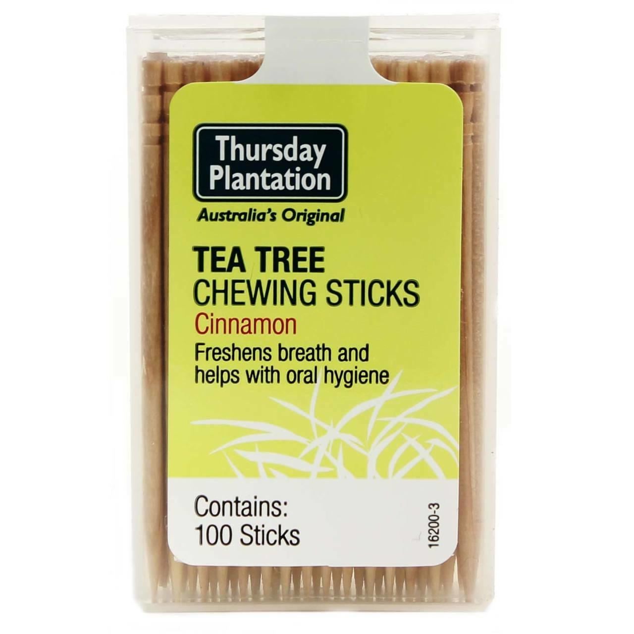 Tea Tree Chewing Sticks - Cinnamon-1