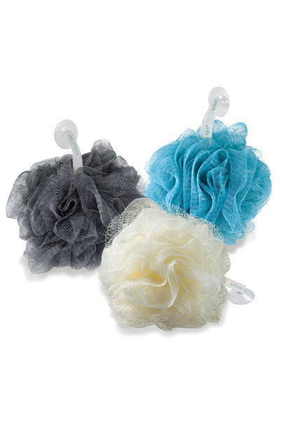 The Loads-of-Lather Pouf