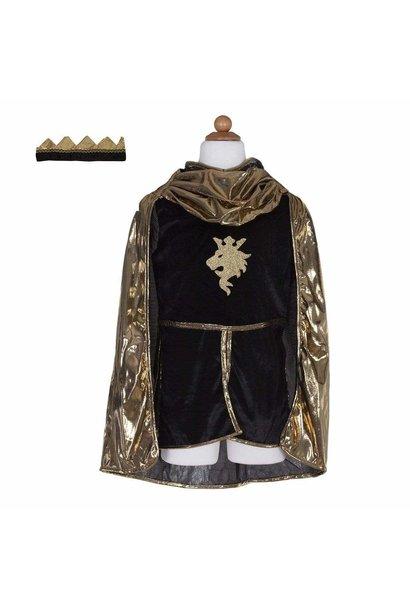 Gold Knight Tunic, Cape & Crown