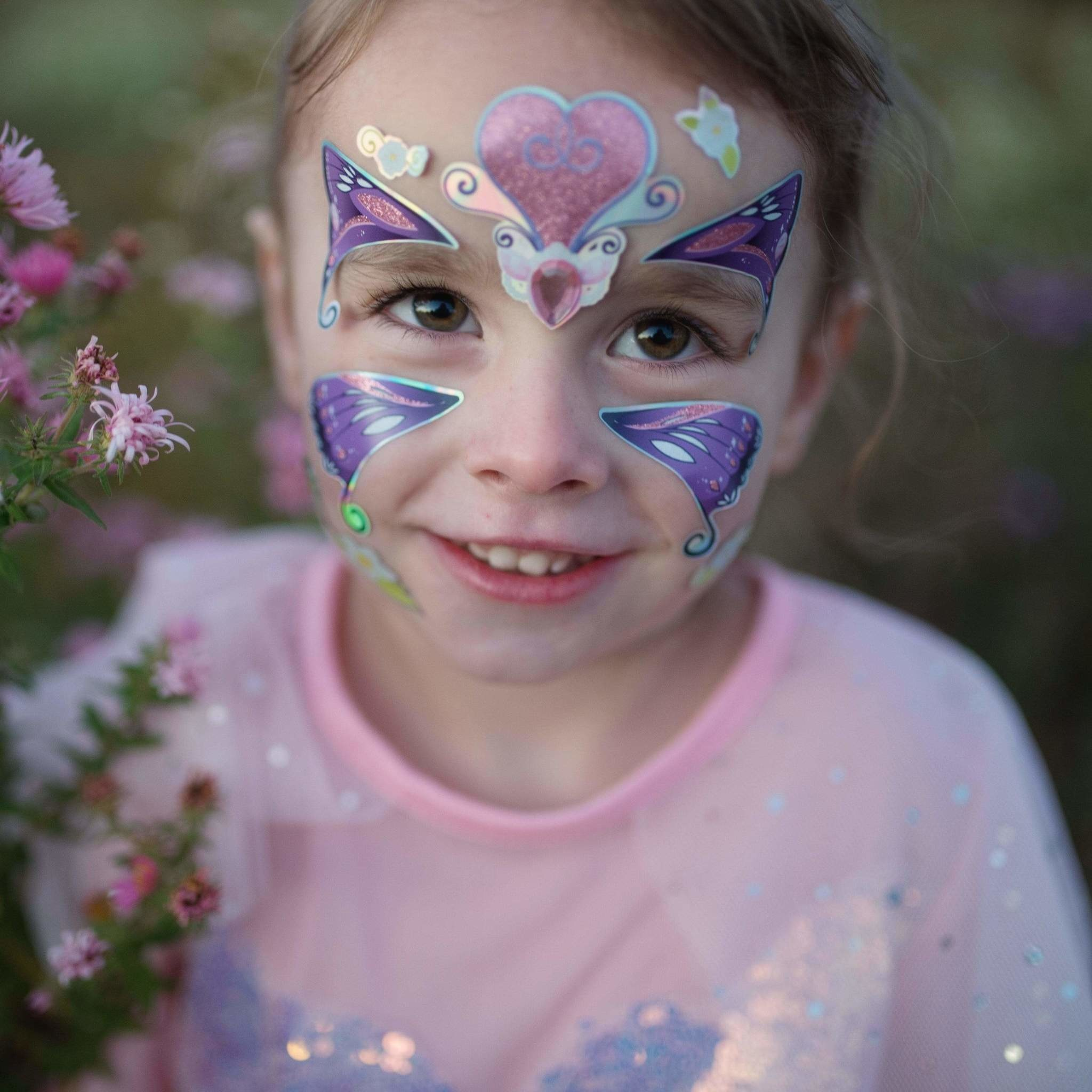 Butterfly Fairy Face Stickers-1