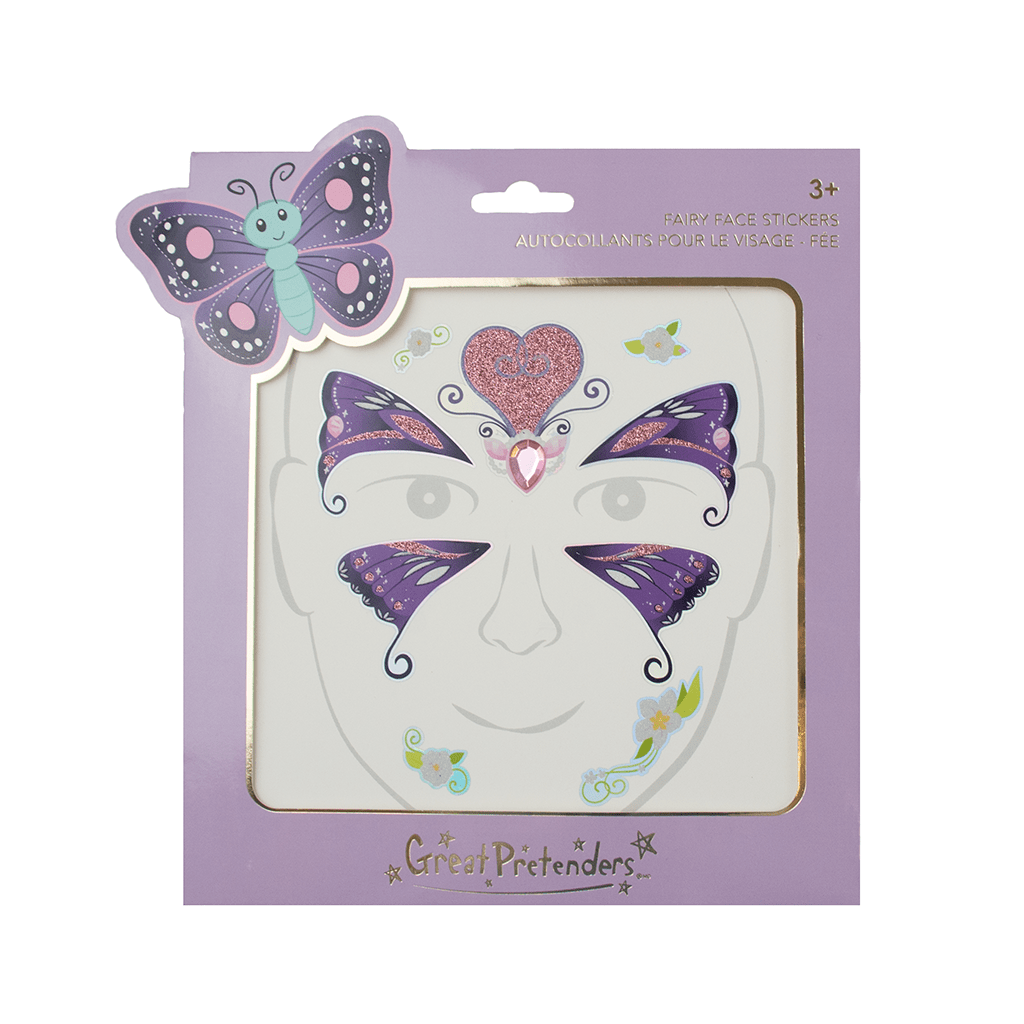 Butterfly Fairy Face Stickers-2
