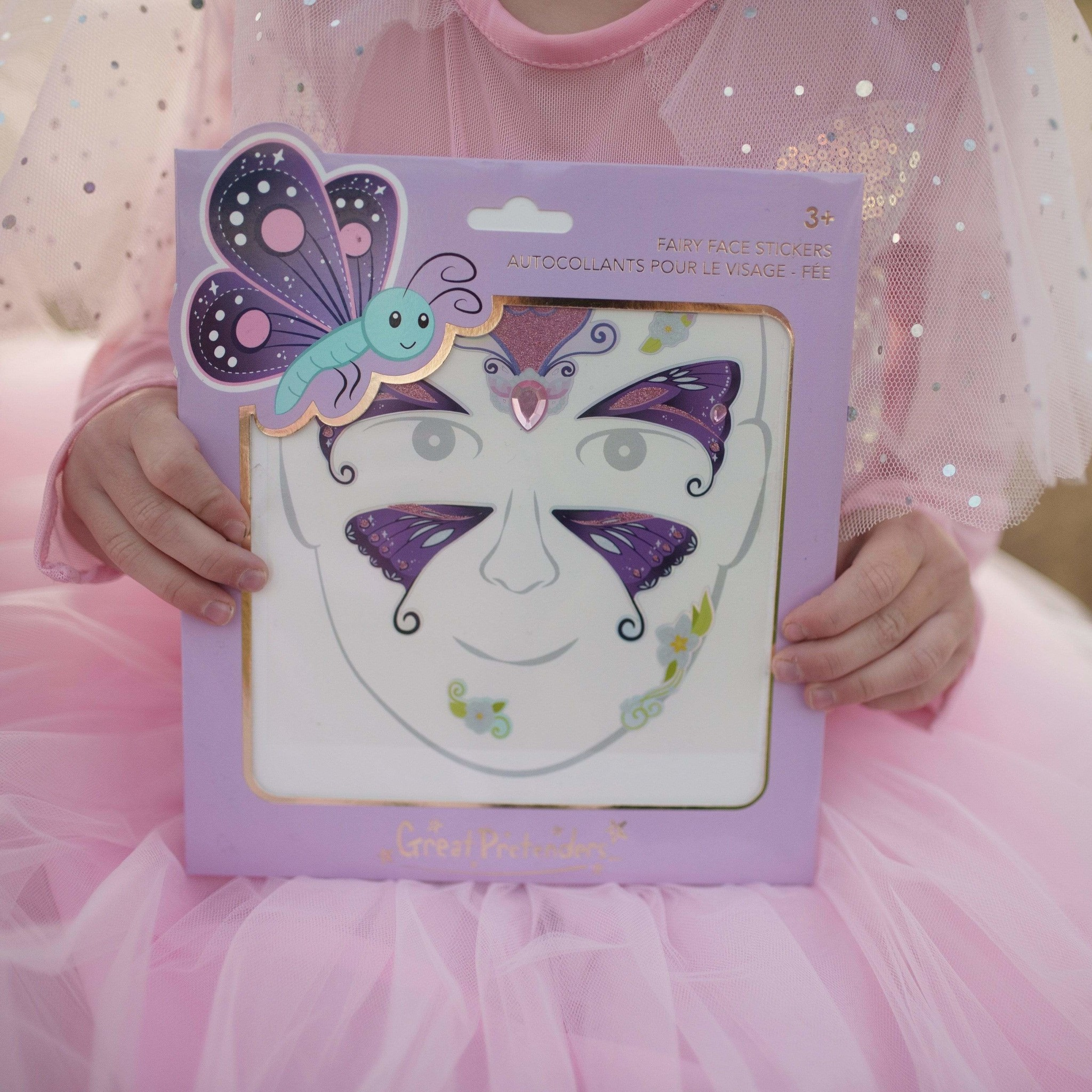 Butterfly Fairy Face Stickers-3