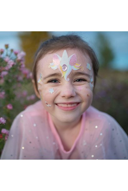 Unicorn Fairy Face Stickers