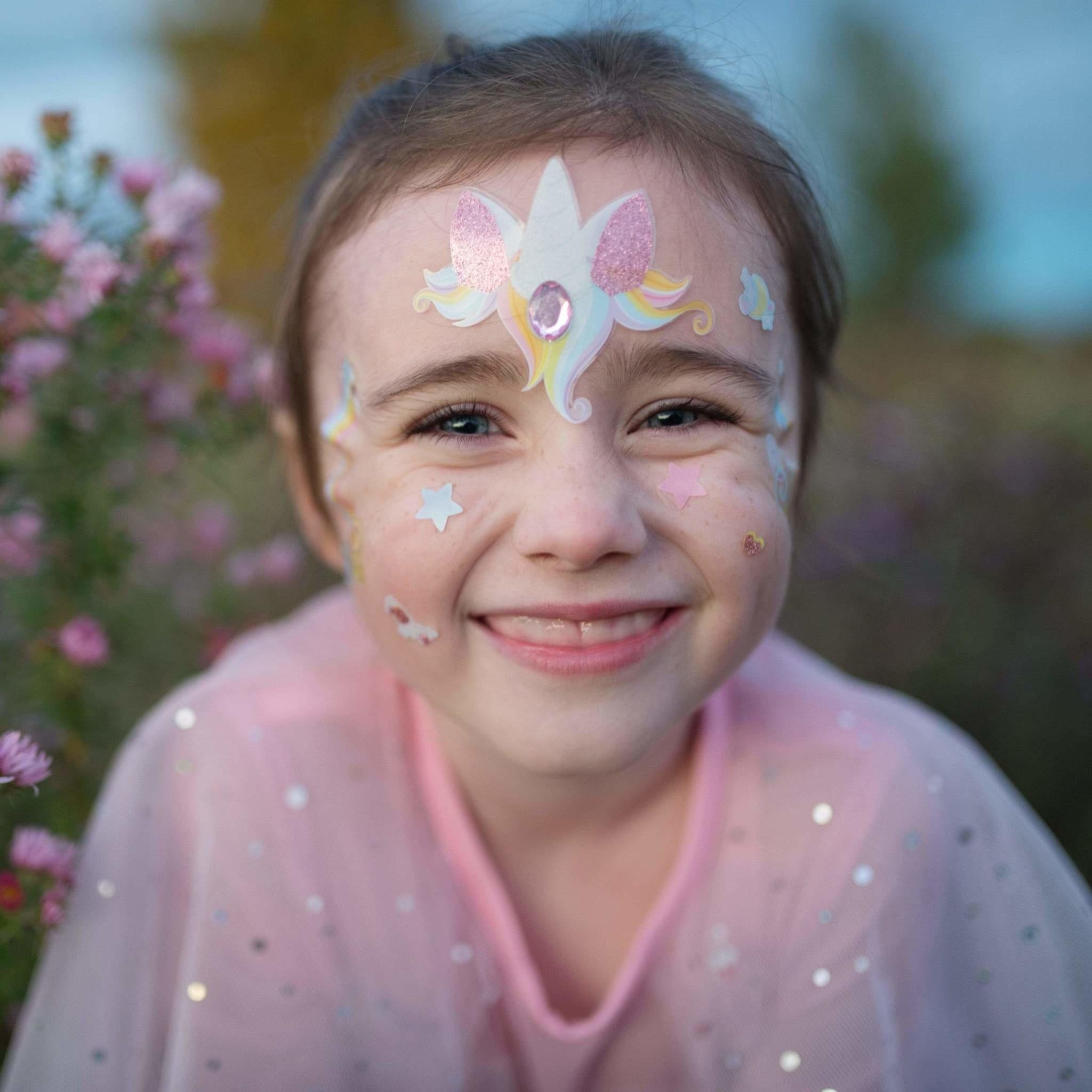 Unicorn Fairy Face Stickers-1