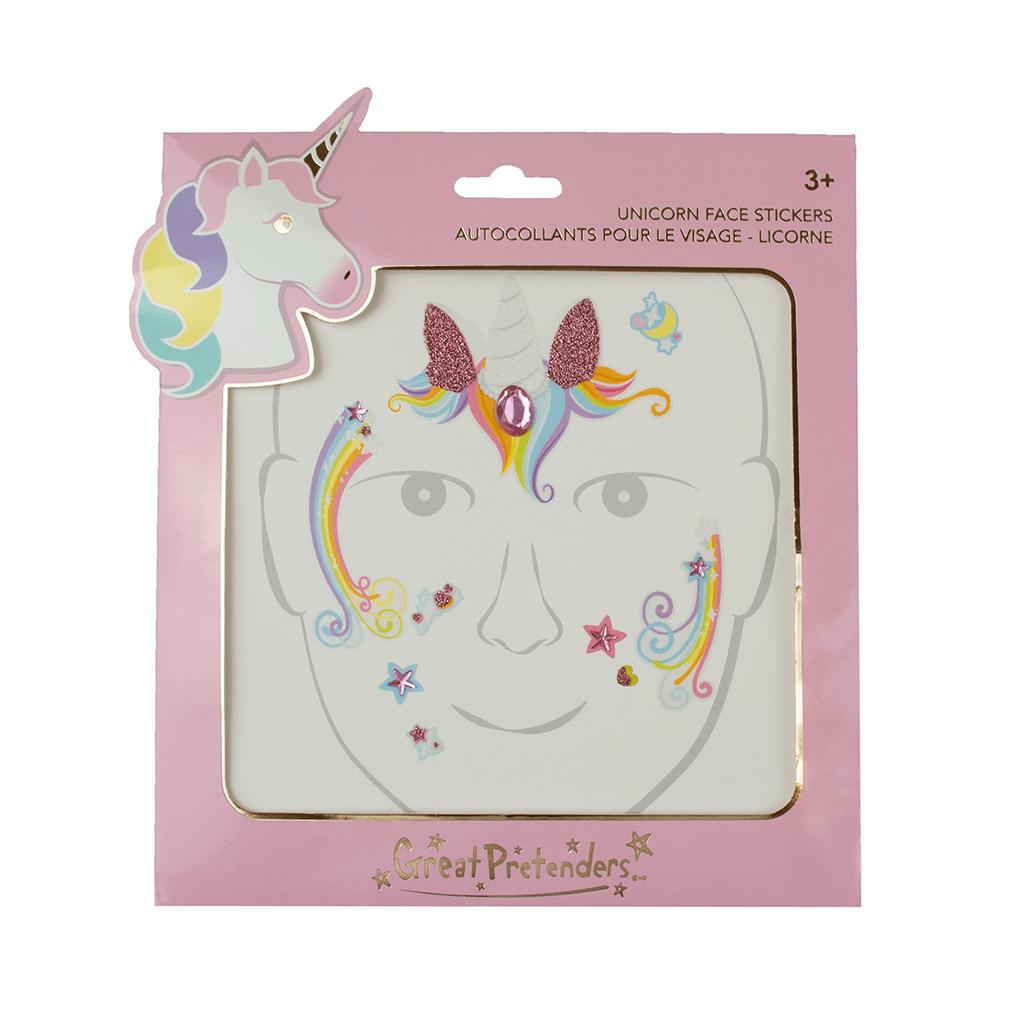 Unicorn Fairy Face Stickers-2