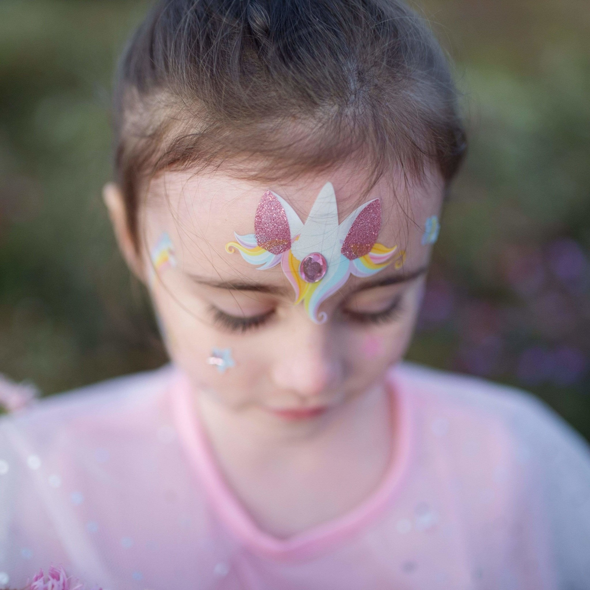 Unicorn Fairy Face Stickers-3