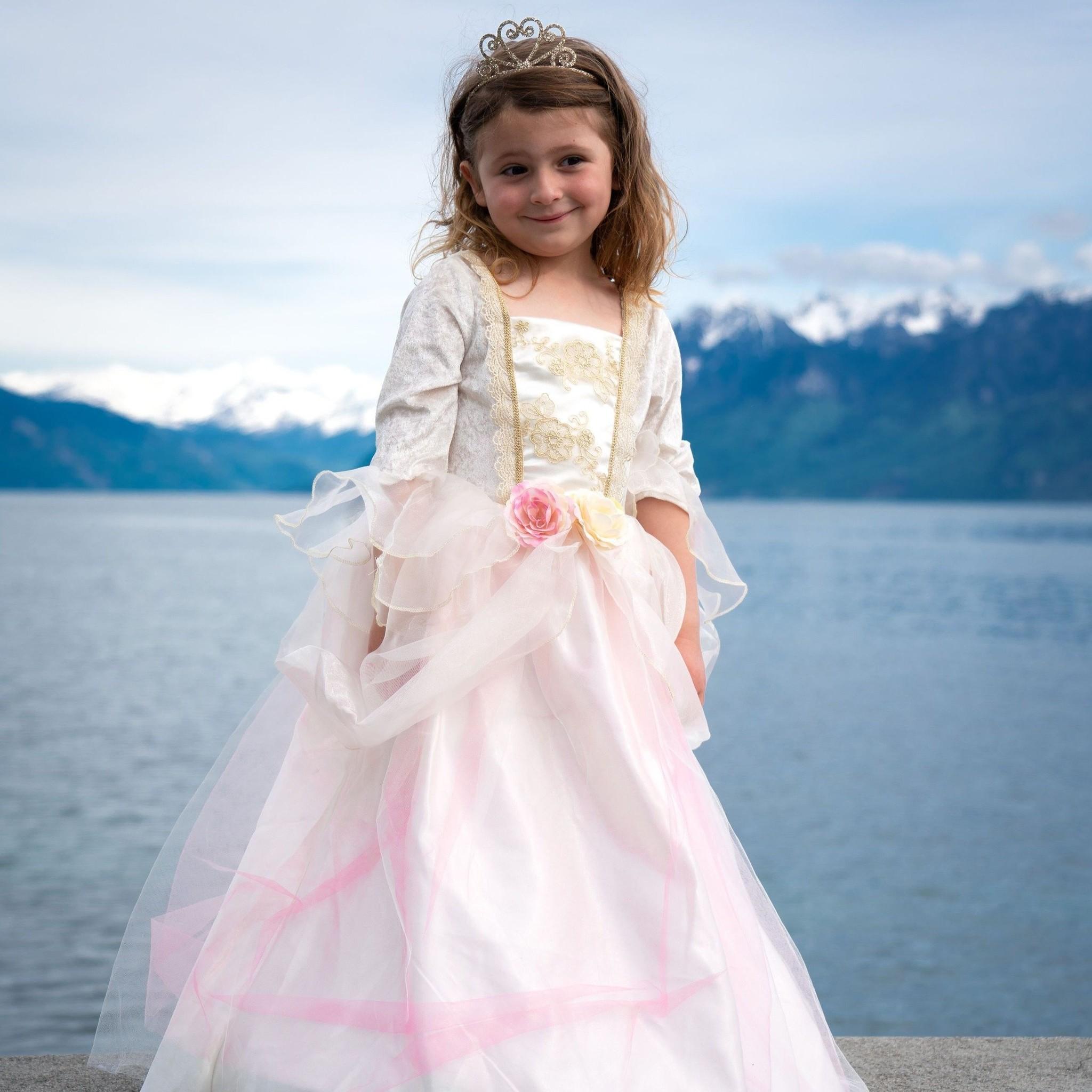 Golden Rose Princess Dress-3
