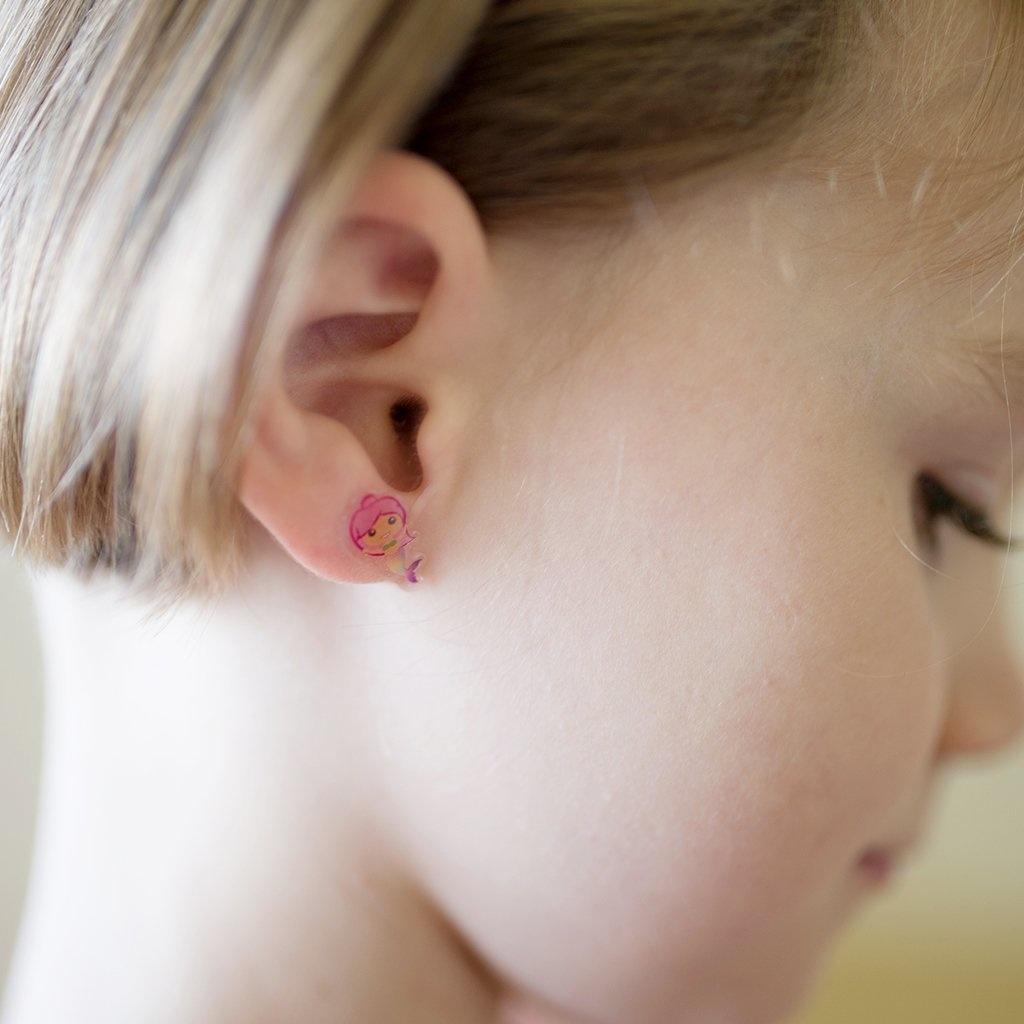 Mermaid Sticker Earrings-3