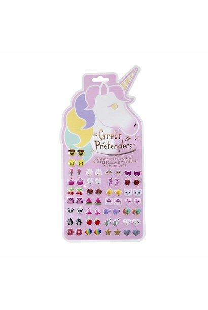 Unicorn Sticker Earrings