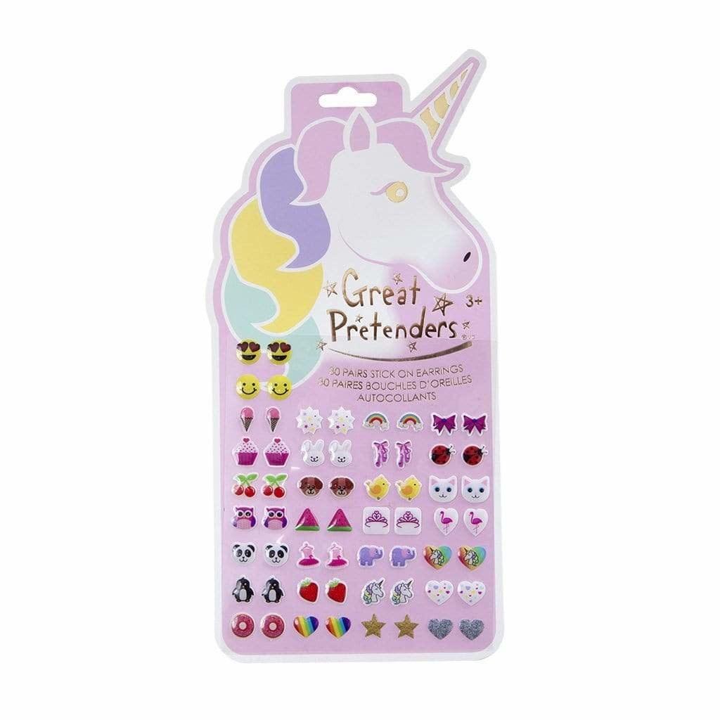 Unicorn Sticker Earrings-1