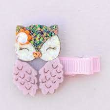 Dear Owl Hair Clip-1