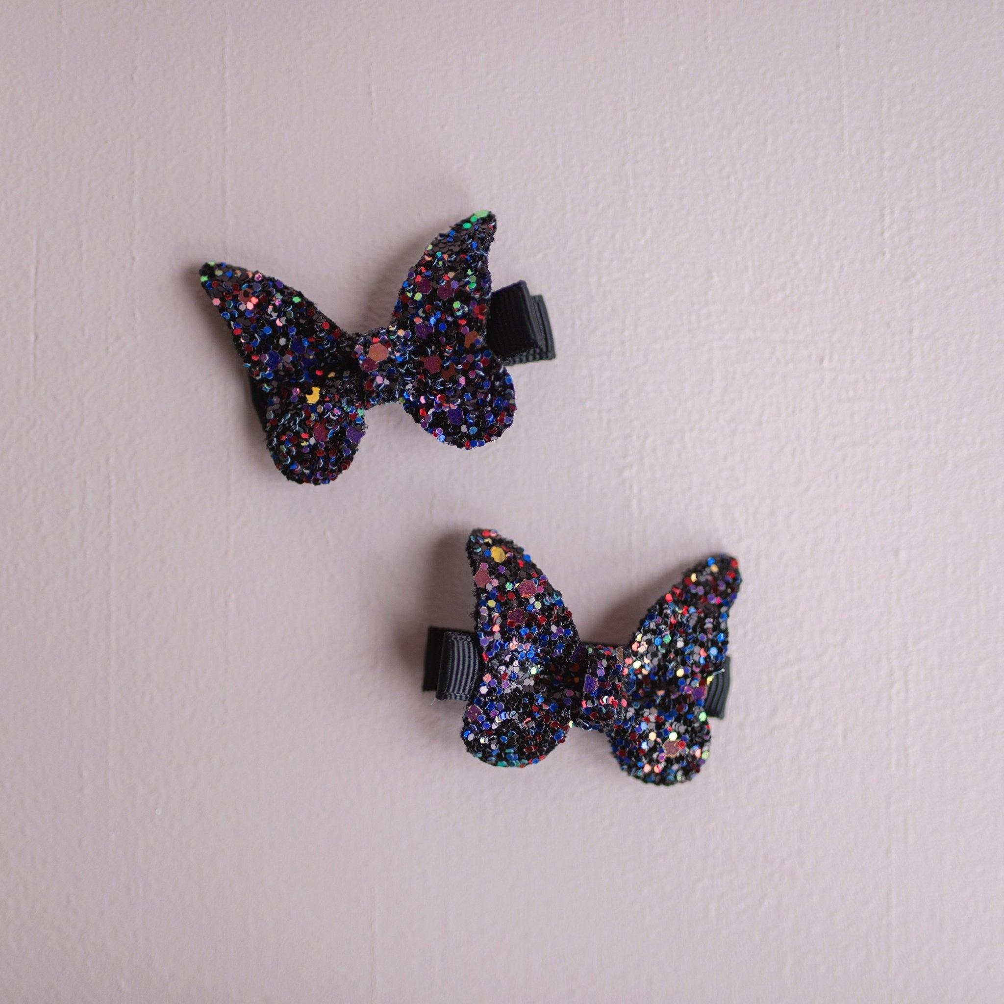 Rockstar Butterfly Hair Clip (1 pc)-3